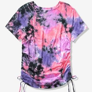 Pink riches sides tee